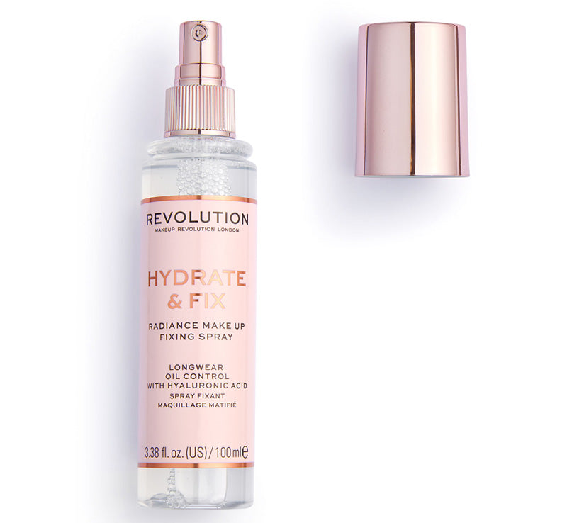 MAKEUP REVOLUTION HYDRATE & FIX FIXING SPRAY Glam Raider
