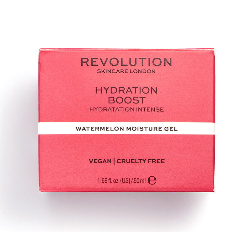 REVOLUTION SKINCARE HYDRATION BOOST WATERMELON MOISTURE GEL Glam Raider