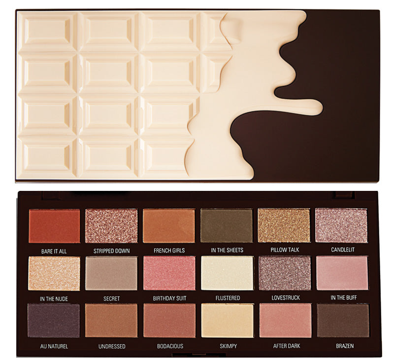 I HEART REVOLUTION NUDES CHOCOLATE PALETTE Glam Raider