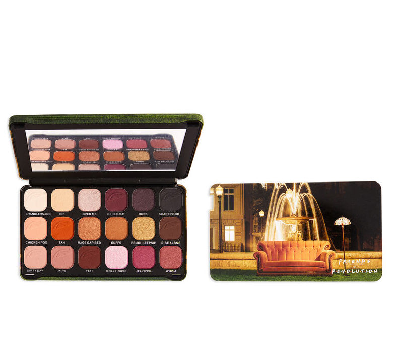 MAKEUP REVOLUTION MAKEUP REVOLUTION x FRIENDS I'LL BE THERE FOR YOU PALETTE Glam Raider
