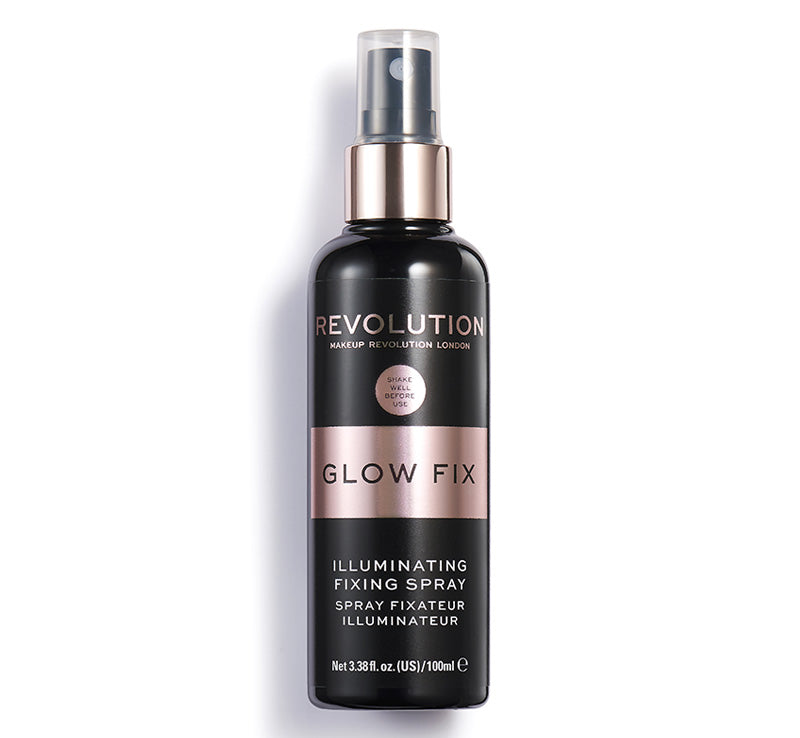 MAKEUP REVOLUTION ILLUMINATING FIXING SPRAY Glam Raider