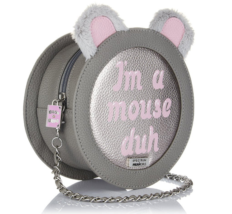 "SPECTRUM MEAN GIRLS ""I'M A MOUSE DUH"" BAG Glam Raider"