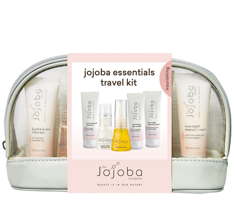 THE JOJOBA COMPANY JOJOBA ESSENTIALS TRAVEL KIT Glam Raider