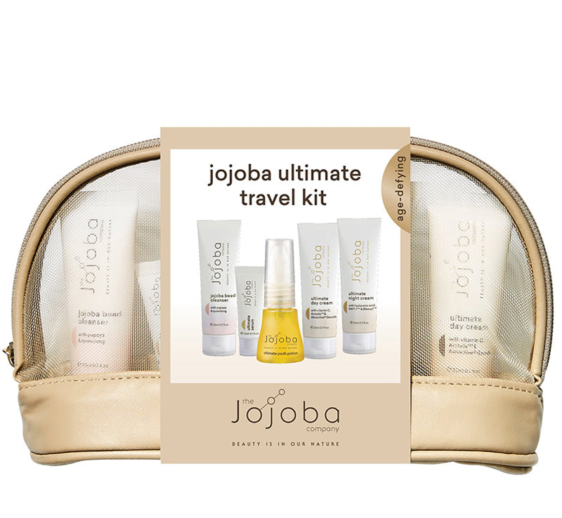 THE JOJOBA COMPANY JOJOBA ULTIMATE TRAVEL KIT Glam Raider
