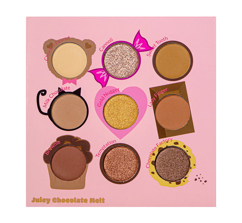 JUICY NINE PALETTE - CHOCOLATE MELT