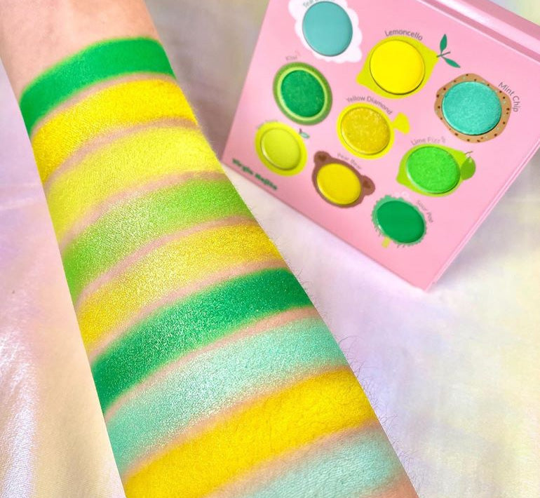 JUICY NINE PALETTE - VIRGIN MOJITO