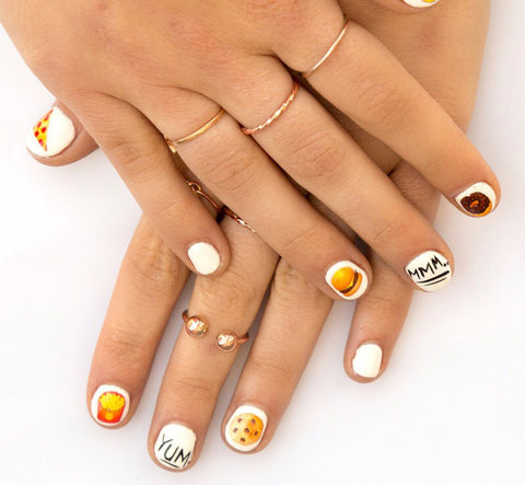 Nail Cart Nail Decals