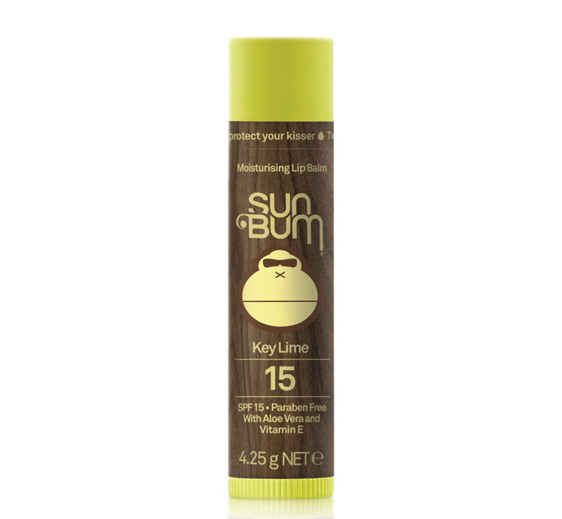 SUN BUM SPF 15 LIP BALM - KEY LIME Glam Raider