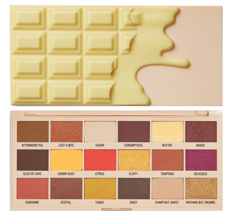 I HEART REVOLUTION LEMON DRIZZLE CHOCOLATE PALETTE Glam Raider