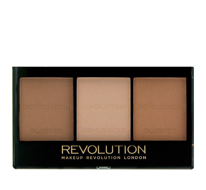 MAKEUP REVOLUTION ULTRA SCULPT & CONTOUR KIT - LIGHT/MEDIUM Glam Raider
