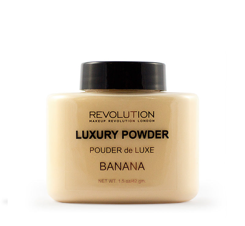 MAKEUP REVOLUTION LUXURY BANANA POWDER Glam Raider