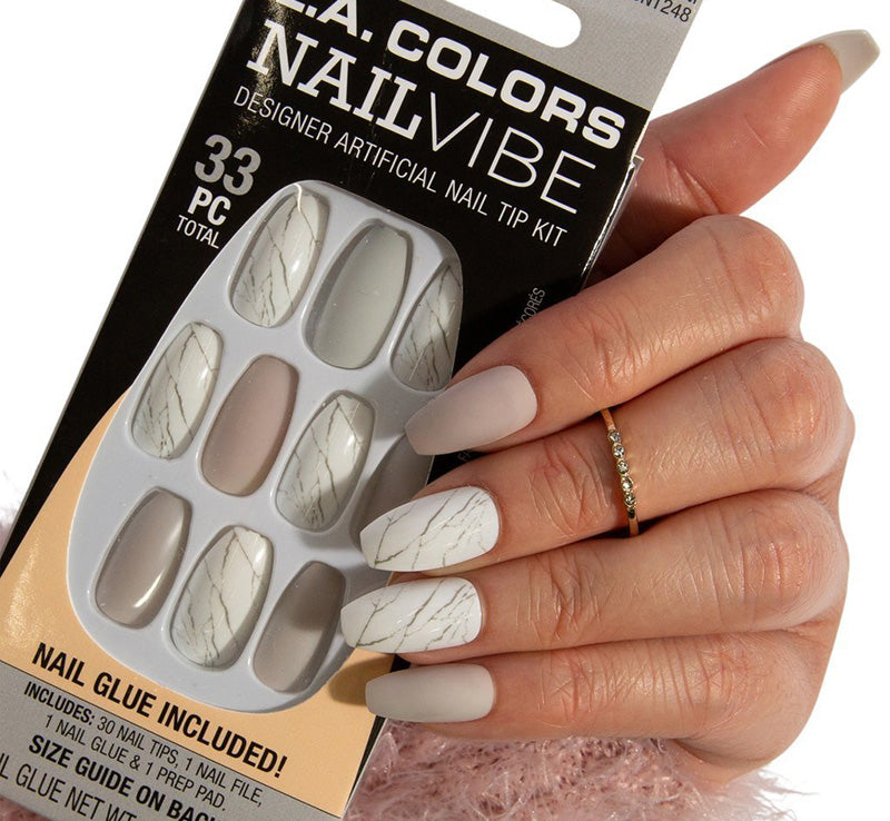 MARBLE-OUS MANI NAILS