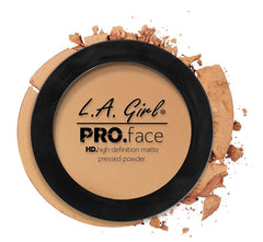 Medium Beige PRO HD Face Powder by LA Girl