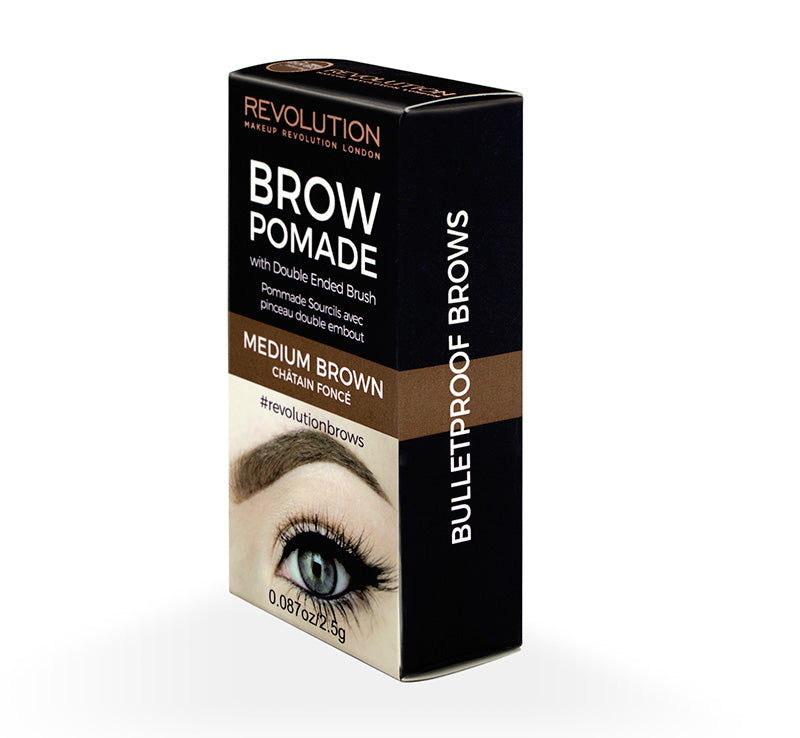 BROW POMADE - MEDIUM BROWN