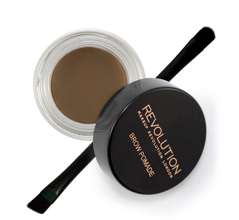 MAKEUP REVOLUTION BROW POMADE - MEDIUM BROWN Glam Raider
