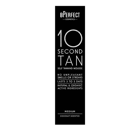 10 SECOND SELF TANNING MOUSSE - MEDIUM COCONUT