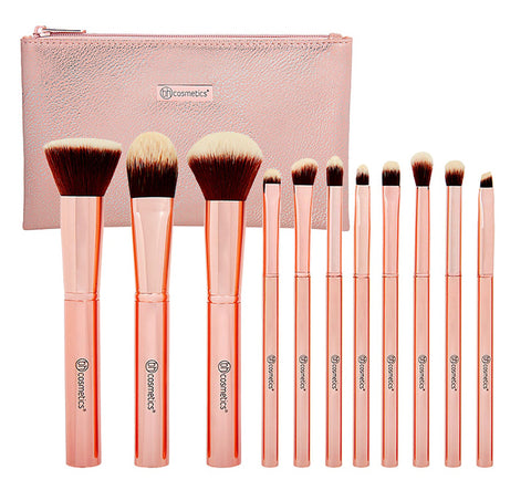 METAL ROSE BRUSH SET
