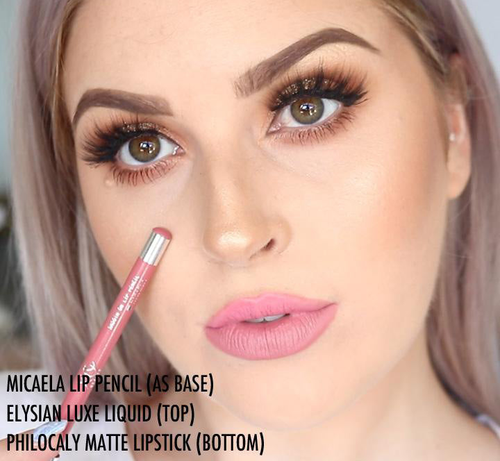 XOBEAUTY MICAELA LIP PENCIL Glam Raider