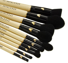 MICKEY MOUSE 10 PIECE BRUSH SET & POUCH BAG