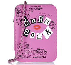 MINI BURN BOOK & MEAN GIRLS BRUSH SET