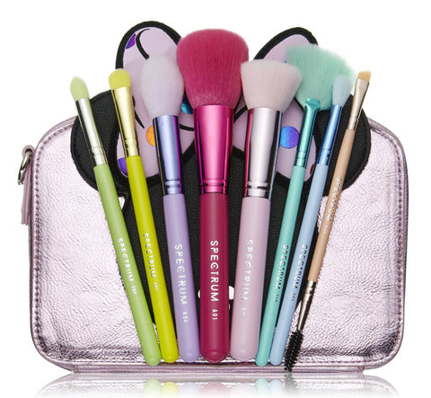 MINNIE MOUSE CAMERA BAG & BRUSH SET