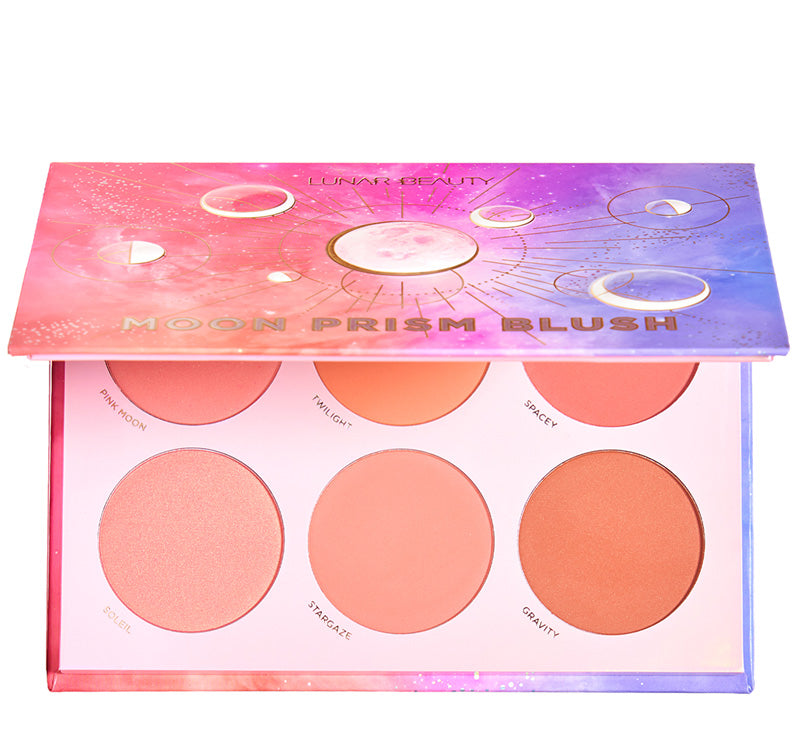 LUNAR BEAUTY MOON PRISM BLUSH PALETTE Glam Raider