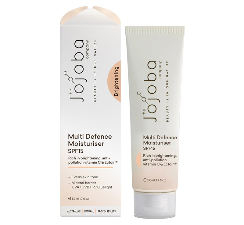 THE JOJOBA COMPANY MULTI DEFENCE MOISTURISER SPF15 Glam Raider