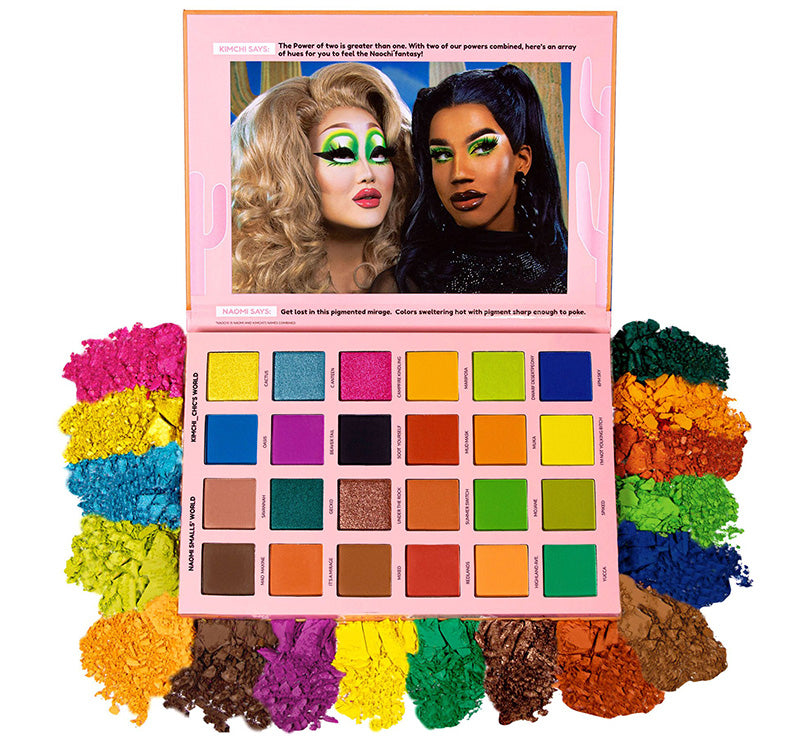 KIMCHI CHIC BEAUTY 2 QUEENS IN 1 DESERT - MAD MAXINE, SOOT YOURSELF Glam Raider
