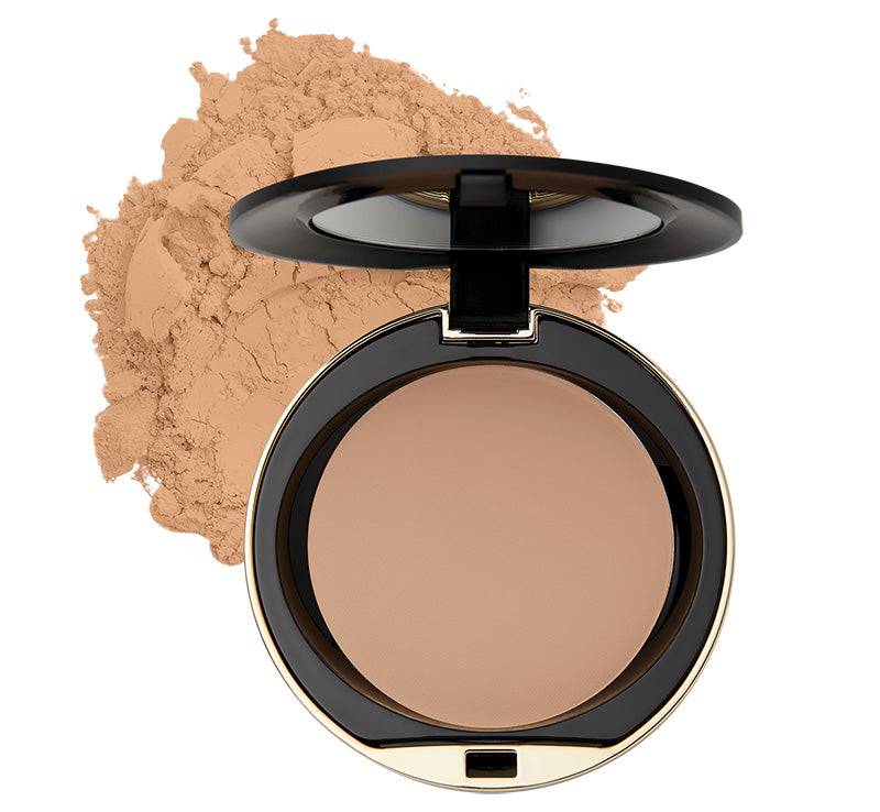 MILANI CONCEAL + PERFECT SHINE-PROOF POWDER - NATURAL BEIGE Glam Raider