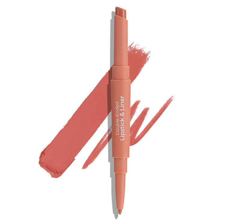 MCOBEAUTY NATURAL PEACH DUO LIPSTICK & LINER Glam Raider