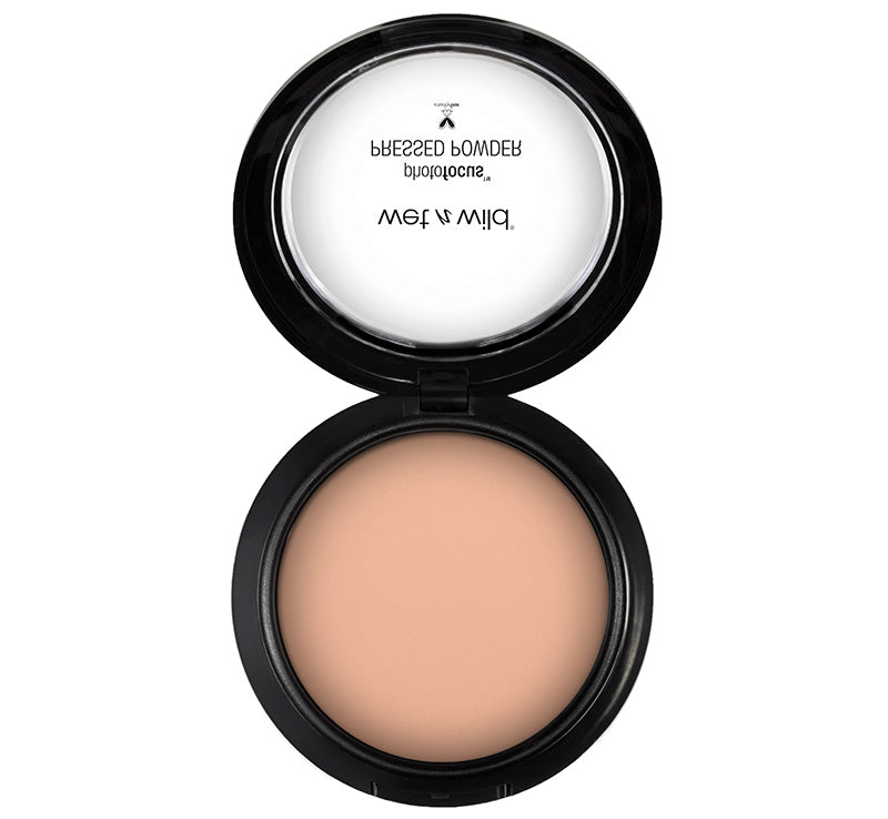 WET N WILD PHOTO FOCUS PRESSED POWDER - NEUTRAL BEIGE Glam Raider