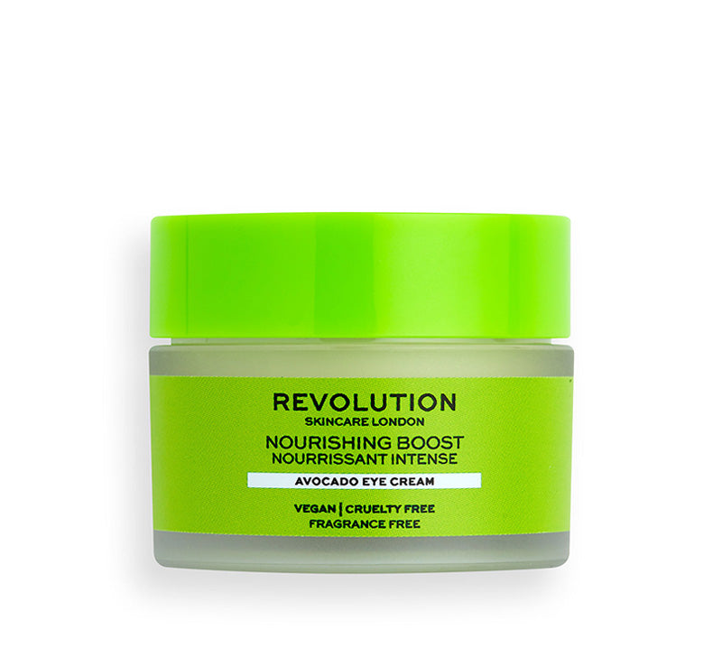 REVOLUTION SKINCARE NOURISHING BOOST AVOCADO EYE CREAM Glam Raider
