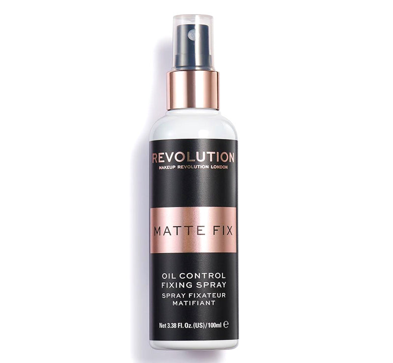 MAKEUP REVOLUTION FIX OIL CONTROL MATTE FIXING SPRAY Glam Raider