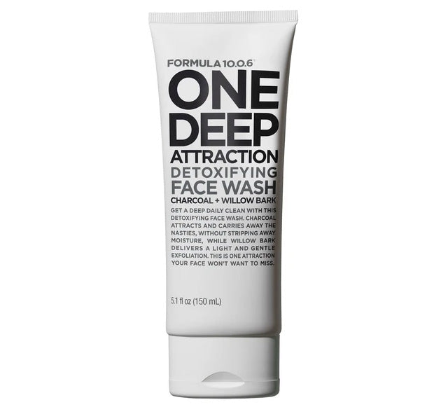 ONE DEEP ATTRACTION DETOXIFYING FACE WASH