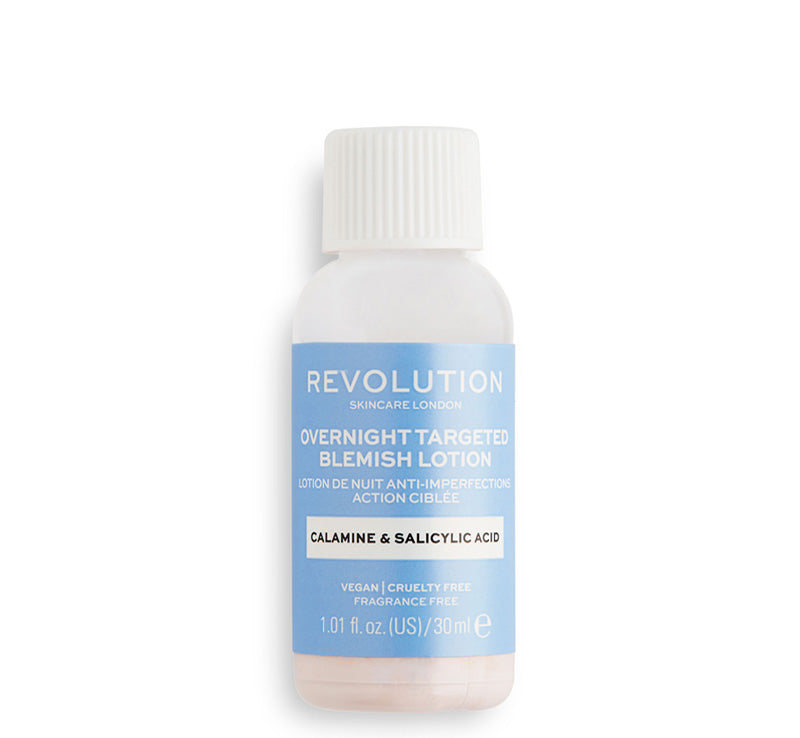 REVOLUTION SKINCARE OVERNIGHT TARGETED BLEMISH LOTION Glam Raider