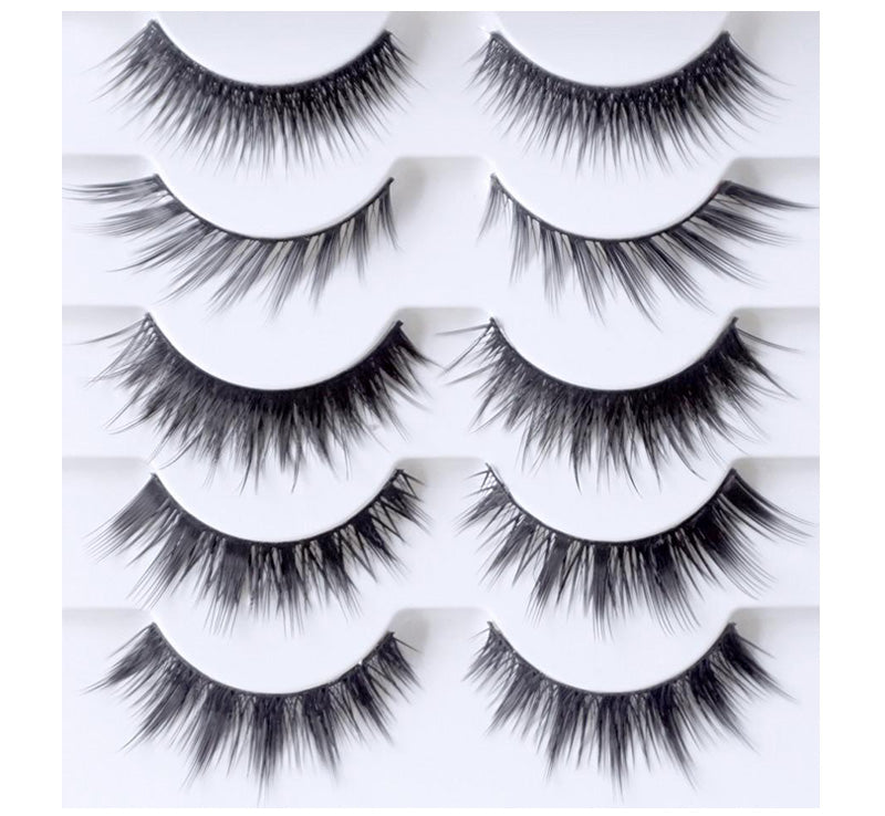 XOBEAUTY THE PARTY STACK FALSE LASH SET Glam Raider