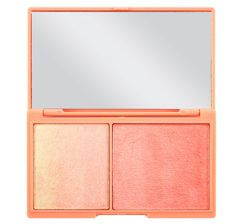 PEACH & GLOW HIGHLIGHT DUO