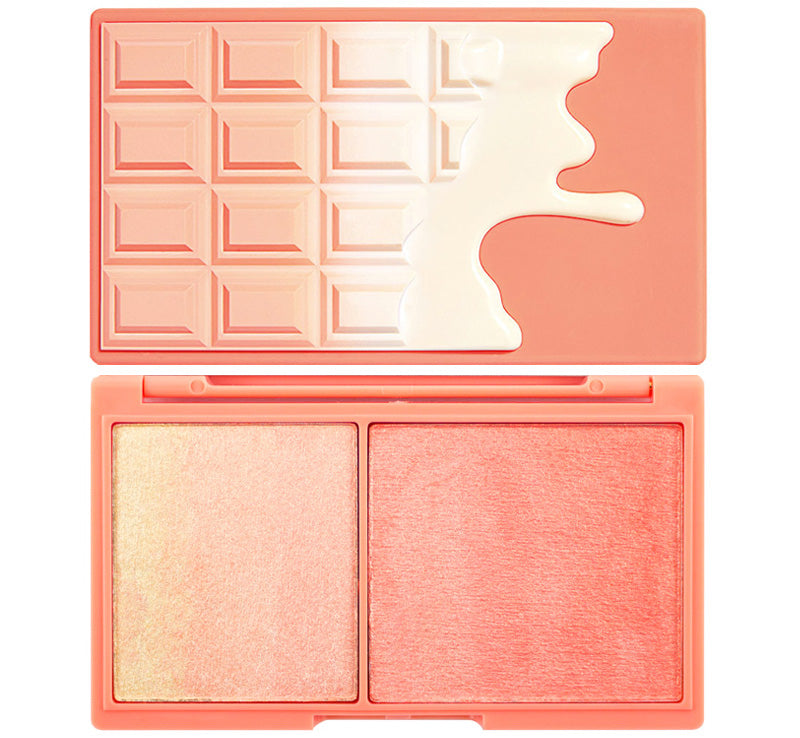 I HEART REVOLUTION PEACH & GLOW HIGHLIGHT DUO Glam Raider