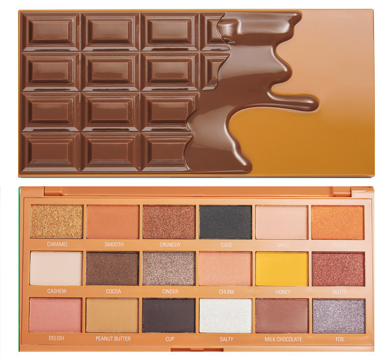 I HEART REVOLUTION PEANUT BUTTER CUP CHOCOLATE PALETTE Glam Raider