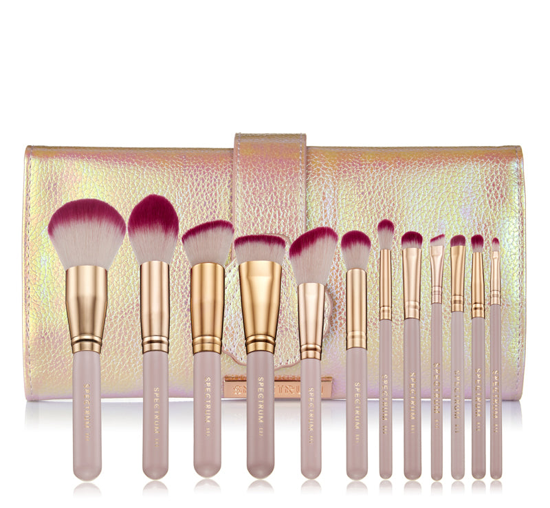 SPECTRUM PEARLY QUEEN BRUSH SET & OYSTER ROLL Glam Raider