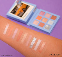 MAKEUP REVOLUTION x FRIENDS PHOEBE EYESHADOW PALETTE