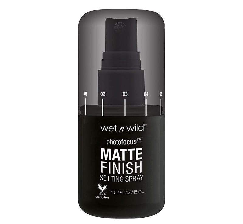 WET N WILD PHOTO FOCUS MATTE SETTING SPRAY Glam Raider