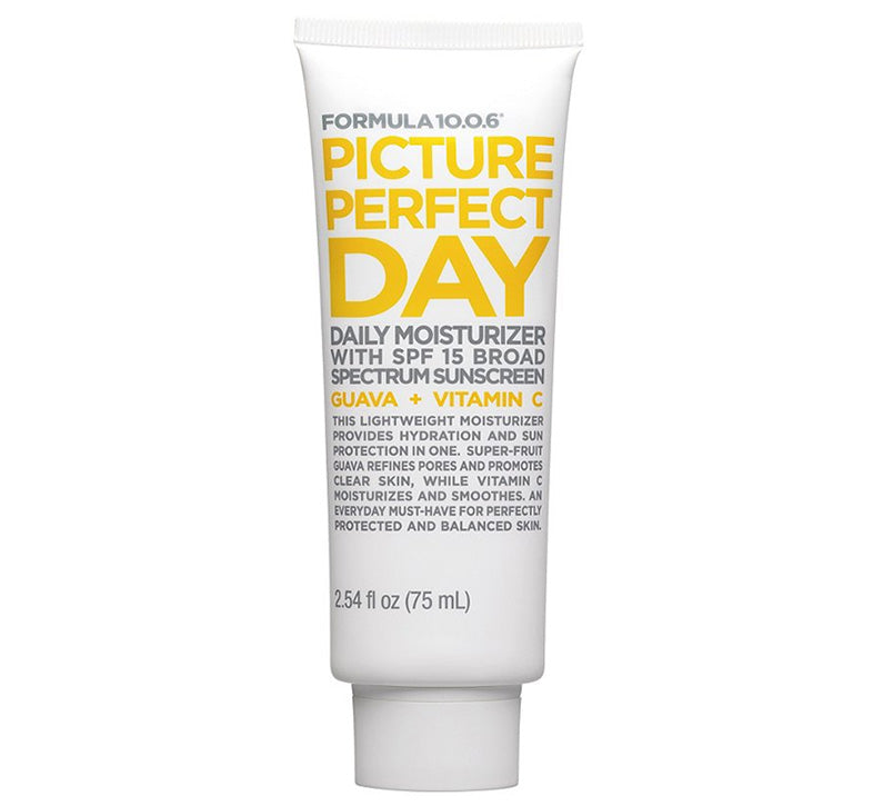 FORMULA 10.0.6 PICTURE PERFECT DAY GEL MOISTURISER WITH SPF 15 Glam Raider