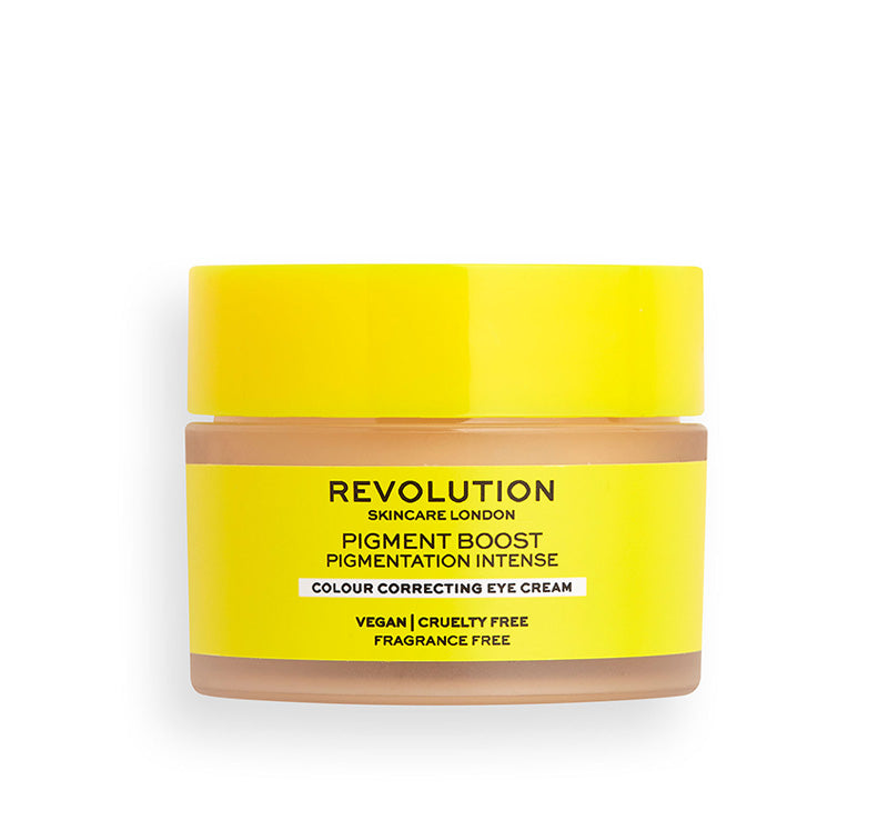 REVOLUTION SKINCARE PIGMENT BOOST COLOUR CORRECTING EYE CREAM Glam Raider