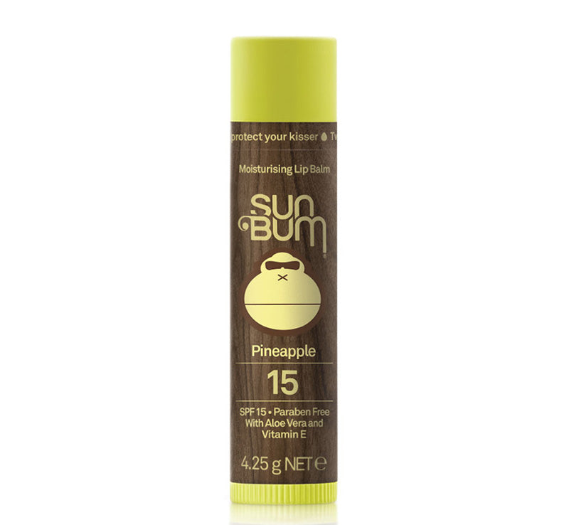 SUN BUM SPF 15 LIP BALM - PINEAPPLE Glam Raider