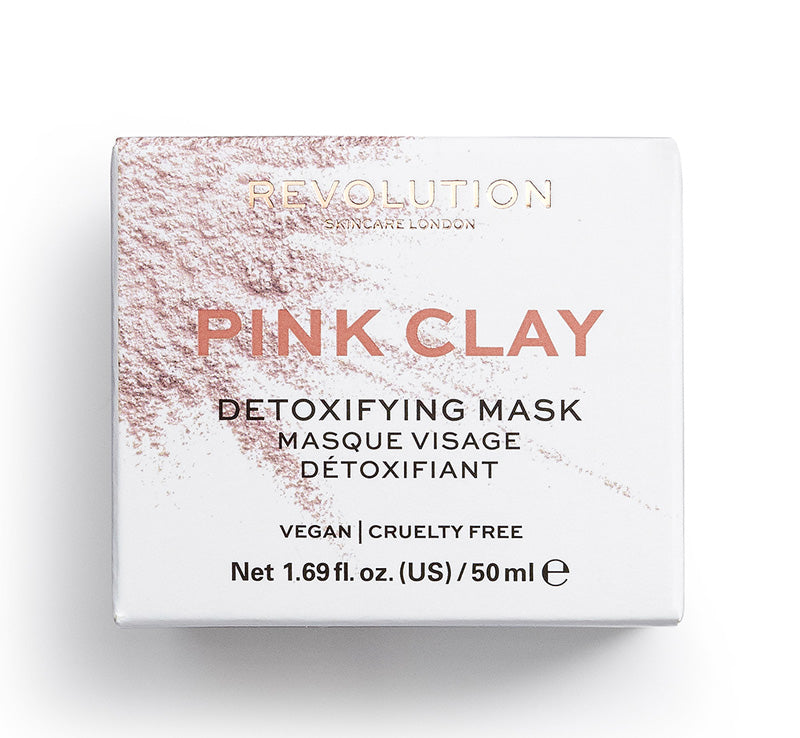 PINK CLAY DETOXIFYING MASK