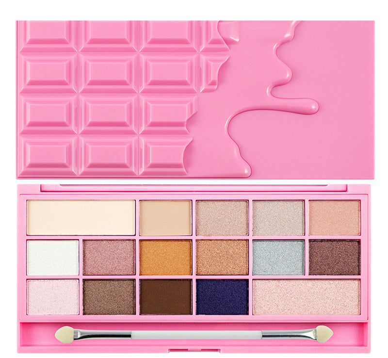 I HEART REVOLUTION PINK FIZZ CHOCOLATE PALETTE Glam Raider
