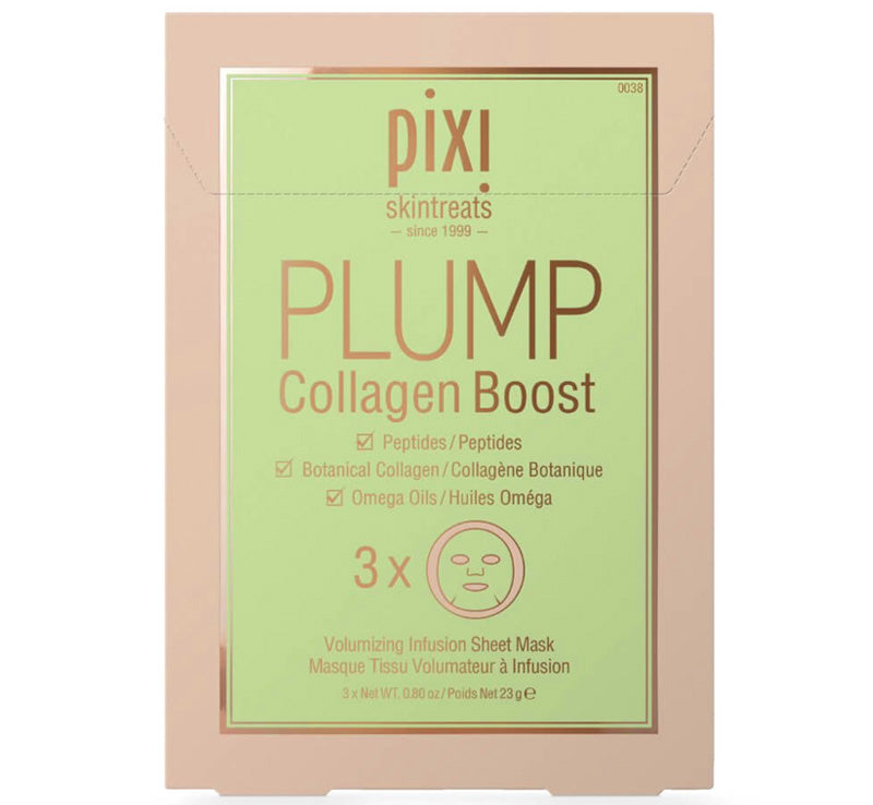 PIXI PLUMP COLLAGEN BOOST MASKS Glam Raider