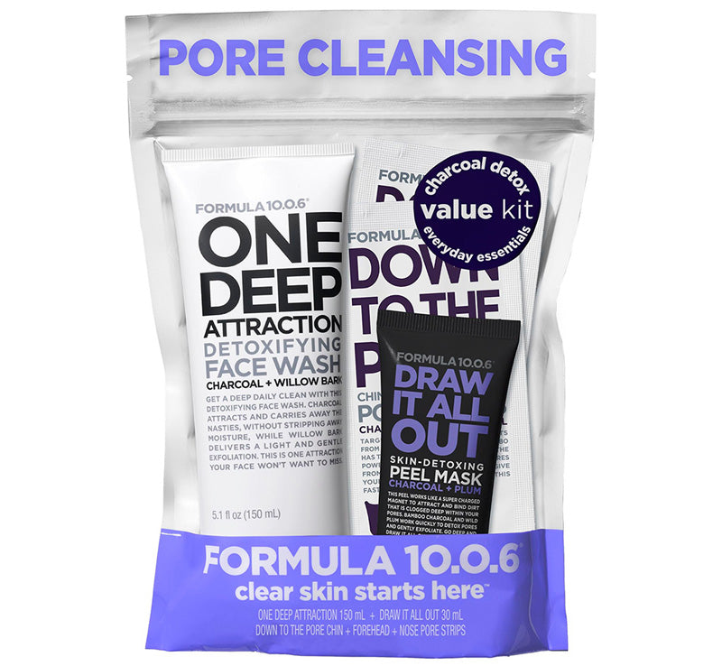 FORMULA 10.0.6 PORE CLEANSING VALUE PACK Glam Raider
