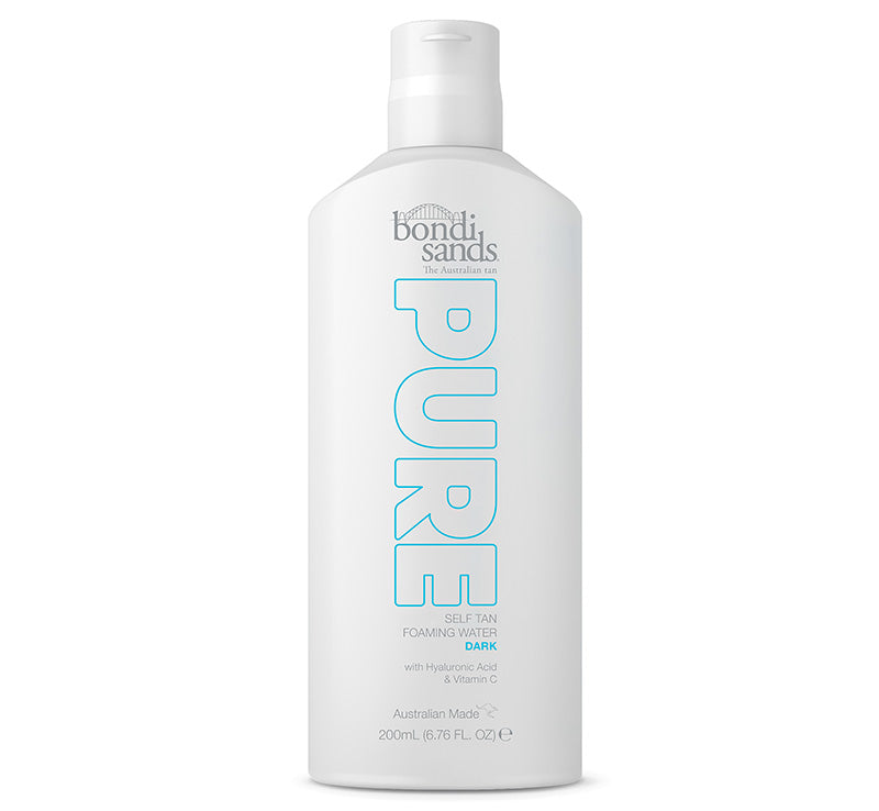 BONDI SANDS PURE SELF TAN FOAMING WATER - DARK Glam Raider